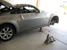 diy how to remove and paint brake calipers my350z com nissan