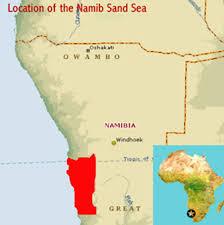 africa map kalahari desert namib sand sea namibia world heritage