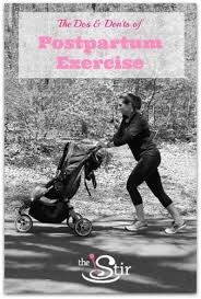 When To Resume Exercise After C Section The Truth About Exercising After Having A Baby Cafemom
