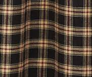 Plaid Drapes All Curtains By Pattern From Primitive Star Quilt Shop