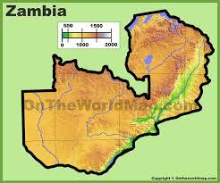 map of zambia zambia maps maps of zambia