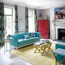 Living Room Colour Schemes - Teal living room decorating ideas