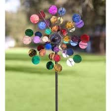 wind spinners with led lights look at this sunset vista design co inc purple floral solar