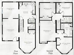 3 bedroom home plans beautiful 3 bedroom 2 storey house plans new home plans design