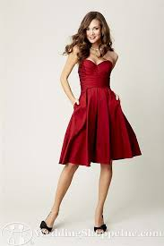 check out kennedy blue claire the perfect red satin dress today