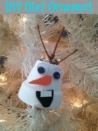 diy disney s frozen olaf ornament mommadjane