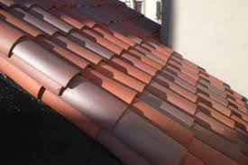 Shingling A Hip Roof 2017 Tile Roof Costs Install Clay Concrete Spanish Terracotta