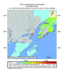 Southeast Alaska Map Magnitude 7 1 Quake Jolts Alaska 4 Homes Lost Chicago Tribune