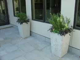 houston concrete planter 3 concrete planters
