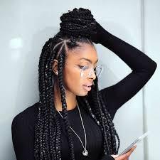box plaits hairstyles best braiding hair for long box braids waterspiper