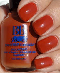 buy best and cool orange rust nail polish color for women online usa