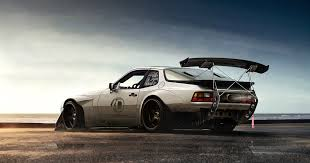 porsche 944 black porsche 944 wide body by anqui on deviantart