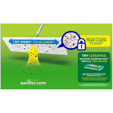 Is Swiffer Safe For Laminate Floors Swiffer Sweeper X Large Dry Dry Sweeping Cloths 16 Ct Box