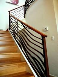 Railing Banister Railings For Stairs Interior Blacksmith Custom Designed Stair