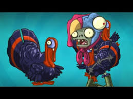 plants vs zombies 2 evil turkeys thanksgiving