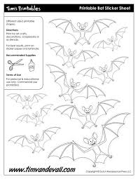 bat u2013 easy printables