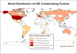 Animal World Map by Map Oie World Organisation For Animal Health