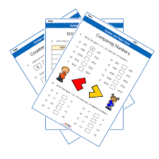 number and place value year 4 worksheets primary maths ks2