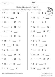 sequencing numbers worksheets worksheets