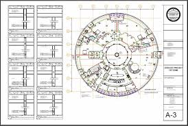 Floor Plan Of Home by Monolithic Dome Design