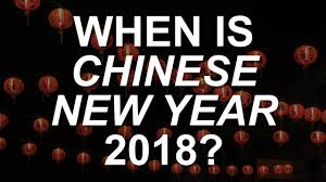 Which Date Is What Date Is New Year 2018 And What Does The Year Of The