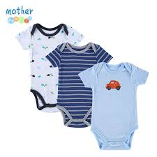 new 3pcs baby boy rompers baby clothing set summer cotton baby