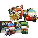 south park 4 ornament set featuring eric cartman