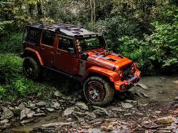 rugged ridge custom jeep wrangler review mud covered mango mania
