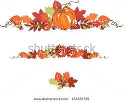 thanksgiving autumn background vector illustration stock vector