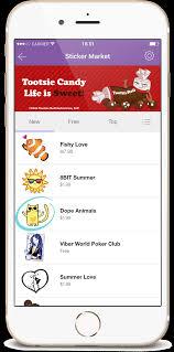 viber viber sticker market for iphone