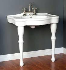 pedestal sink with legs pedestal sink with legs sink with two legs unique two legged