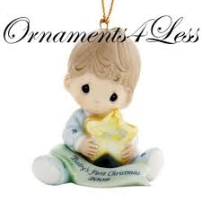 best precious moments baby s boy ornament for sale