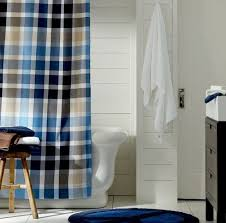 Shower Curtain Blue Brown Nautica Blue And Brown Shower Curtain 11 Photos Best Curtains