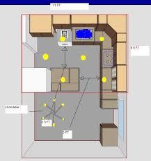 Kitchen Recessed Lighting Design Kitchen Attractive Recessed Kitchen Lighting Layout Luxury