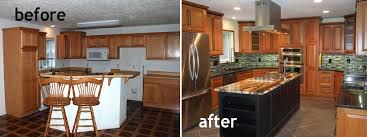 kitchen remodeling ideas before and after kitchen remodels before and after model home kitchen1 before and
