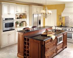 stunning l shaped kitchen with island layout an arched overhang t