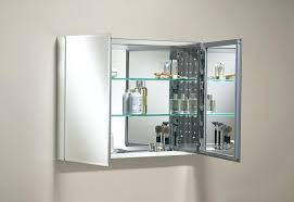 Bathroom Cabinet Mirrored Recessed Vanity Mirror Cabinet Upandstunning Club
