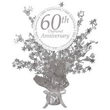 Anniversary Table Centerpieces by Gift Wedding Table Centerpieces 60th Anniversary Party Supplies