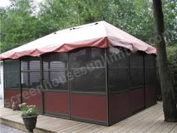 jardin square style screen enclosures free standing screen rooms