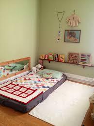 floor bed ideas montessori floor bed frame susan decoration