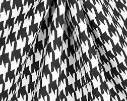 White Black Curtains Black White Curtains Etsy