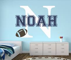 Custom Nursery Wall Decals by Online Buy Wholesale Football Baby Names From China Football Baby