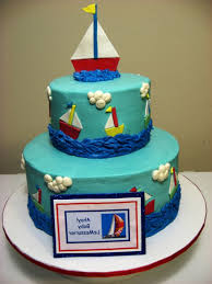 nautical baby shower cake themes baby shower cake cake design