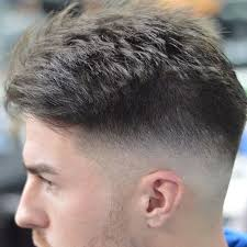 textured top faded sides 25 short hairstyles for men with cowlicks style designs