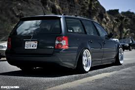 passat wagon lowered absolutely love the way this wagon sits