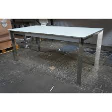 glass and chrome dining table glass chrome dining table cheap glass chrome dining table with