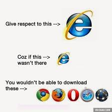 Who Are We Browsers Meme - 9gag on twitter internet explorer 1995 2015 r i p http t co