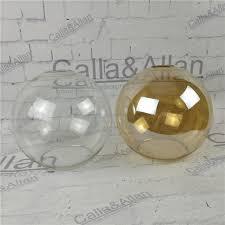 Diy Glass Pendant Light Clear Glass Shade D200mm Diy Lighting Lshade Cone