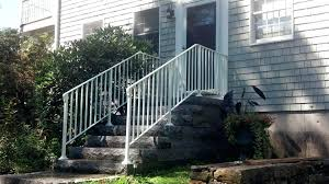 iron railings for stairs exterior wrought ma custom rails