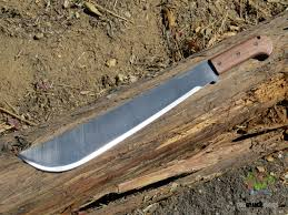 Ontario Kitchen Knives Ontario Knives Bushcraft Machete Walnut Handle 6520 Osograndeknives